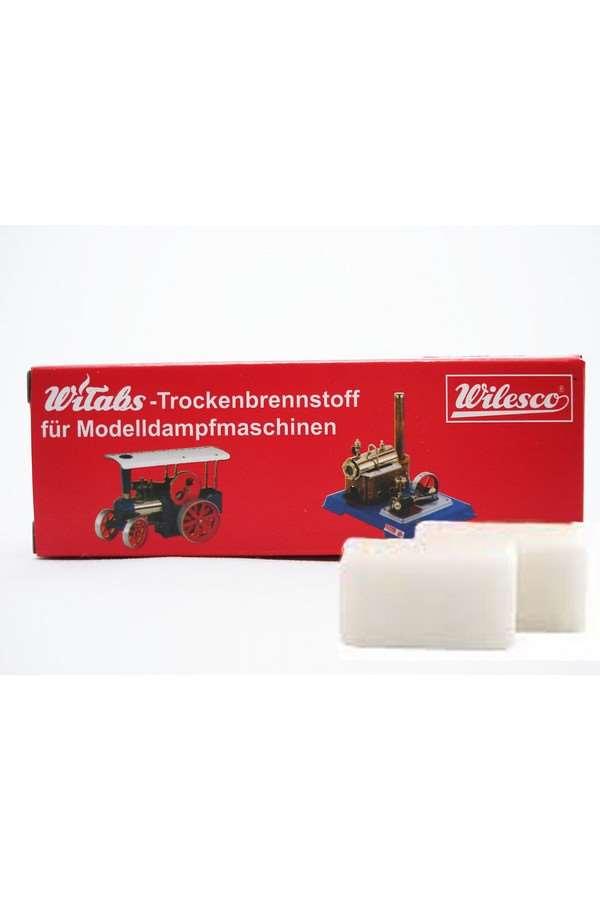 Wilesco 01010 Witabs Trockenbrennstoff für Modelldampfmaschinen