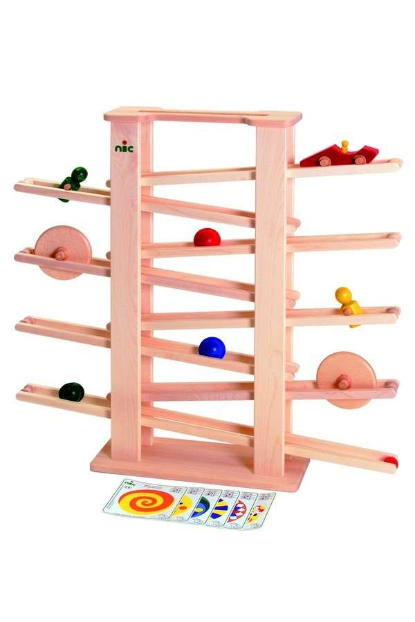 nic multibaan jodelbaan 1502 houten speelgoed hesemans. Black Bedroom Furniture Sets. Home Design Ideas